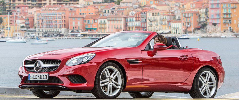Новая версия Mercedes SLC ударит по прибыльности Mazda MX-5