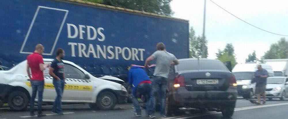 Подробности вчерашнего тройного ДТП в Смоленске на Рославльском шоссе