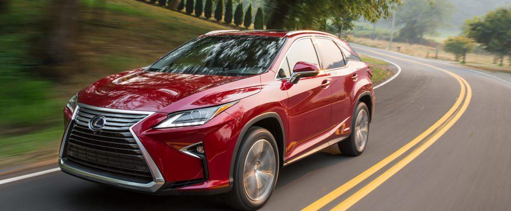 Названы сроки появления семиместного Lexus RX
