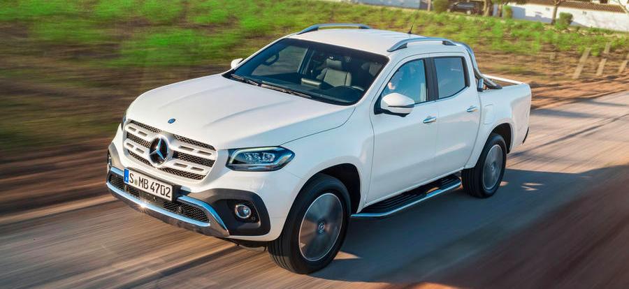 Mercedes представил первый пикап в своей истории