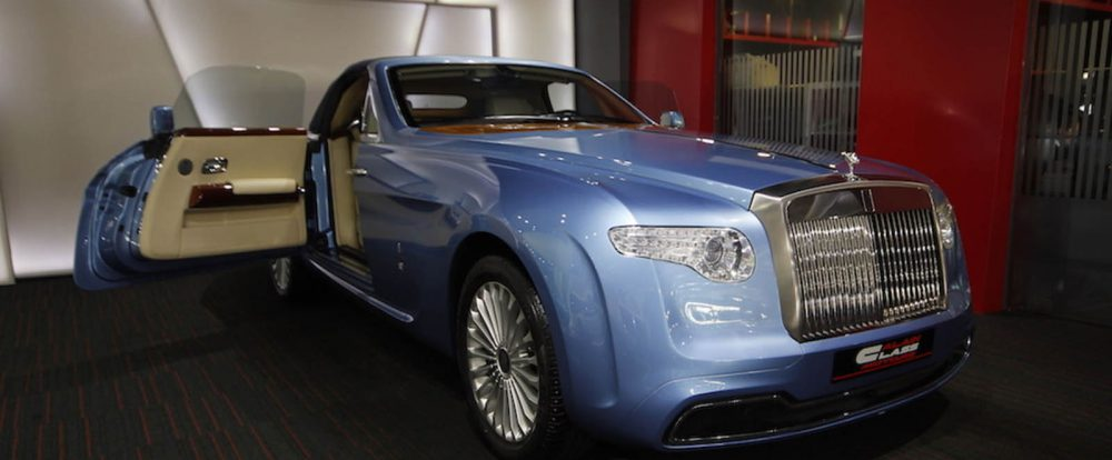 Рассекречен дизайн роскошного Rolls-Royce Phantom