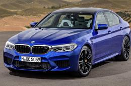 BMW представила седан M5 нового поколения