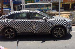 Опубликованы шпионские фото нового кросс-купе Bisu BT7