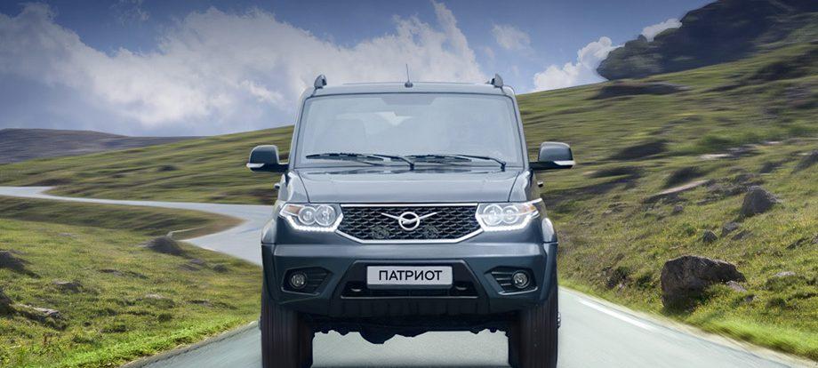 Внедорожник УАЗ Патриот предложен в новых версиях