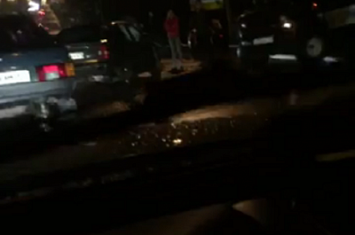 Авария на Речной практически парализовала движение на нескольких улицах