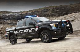 Пикап Ford F-150 Police Responder получил рейтинг преследователя