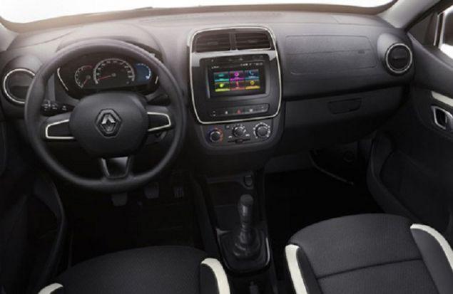 Бюджетный Renault Kwid наградили двухцветной окраской