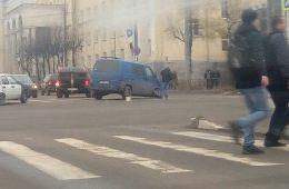 В Сафоновском районе грузовик улетел в кювет