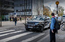 Беспилотники концерна Jaguar Land Rover впервые выехали на улицы