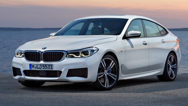 В России стартовали продажи хэтчбека BMW Gran Turismo шестой серии