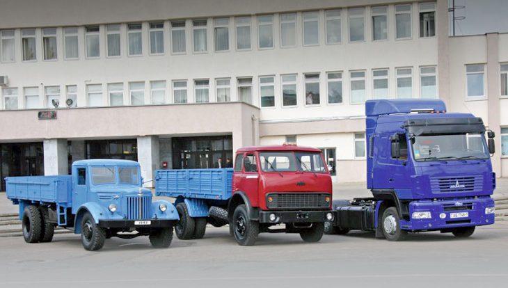 У белорусского автопрома юбилей: исполнилось 70 лет грузовикам МАЗ