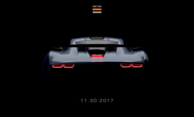 Aria представит спорткар FXE в Лос-Анджелесе 30 ноября