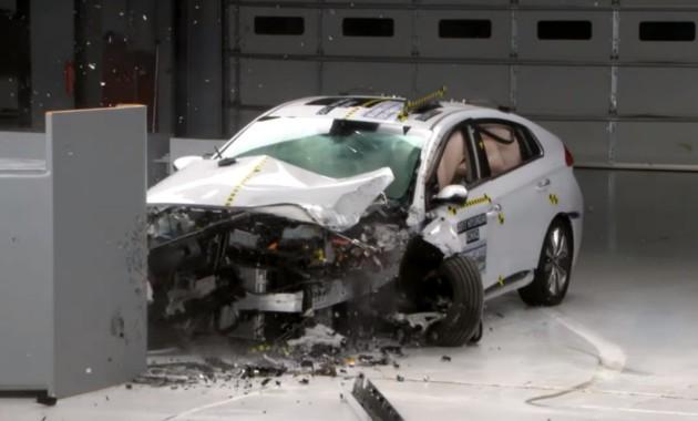 Три модели Hyundai получили максимальные оценки за безопасность