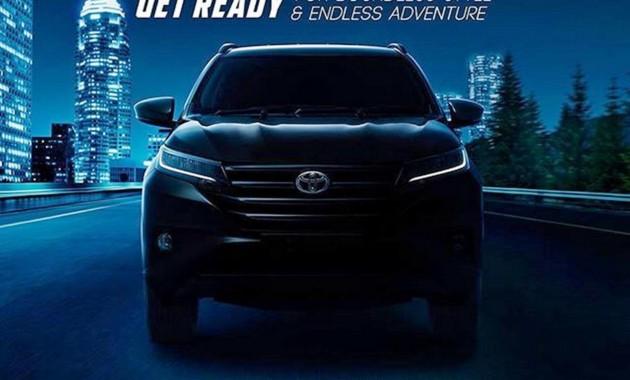 Новые внедорожники Toyota Rush и Daihatsu Terios: первые изображения