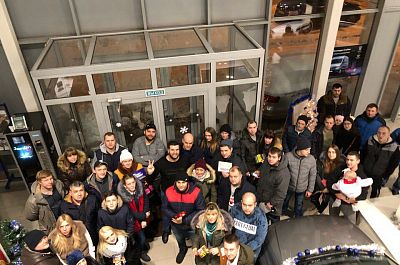 В Смоленске состоялся новогодний розыгрыш
