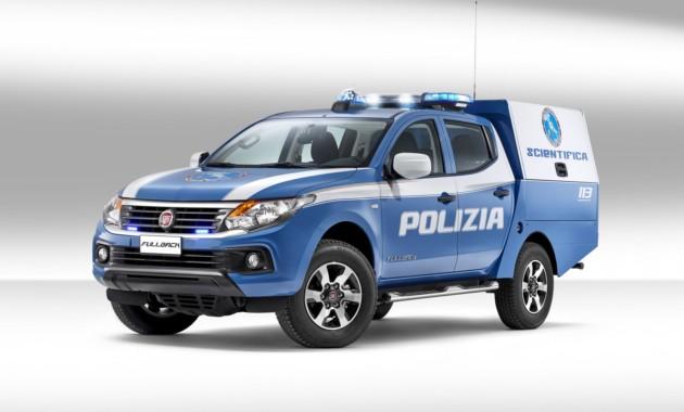 Fiat Fullback послужит экспертам-криминалистам