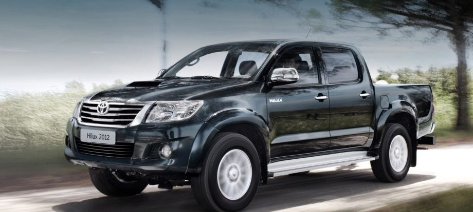 Под отзыв попало более девяти тысяч пикапов Toyota Hilux
