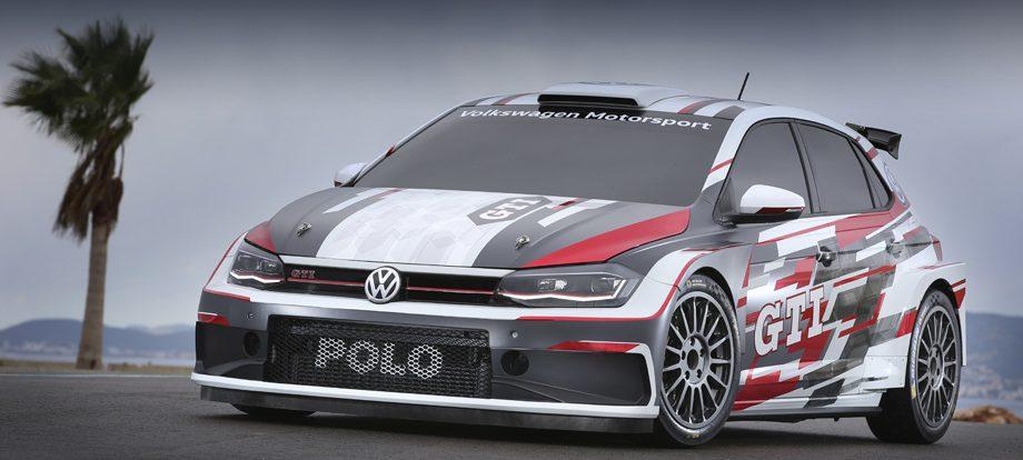 Хэтч Volkswagen Polo GTI R5 поможет рекламе гражданской модели