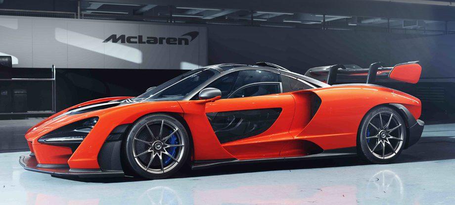 Купе McLaren Senna объявлено бескомпромиссным Маклареном