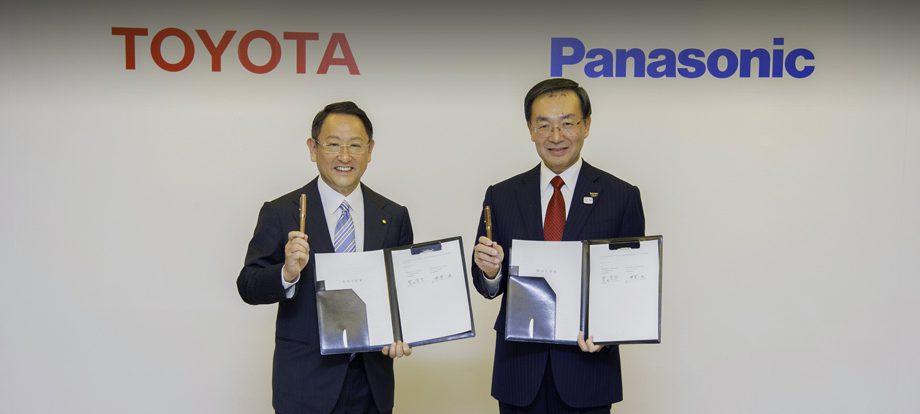 Компании Toyota и Panasonic создадут улучшенные батареи