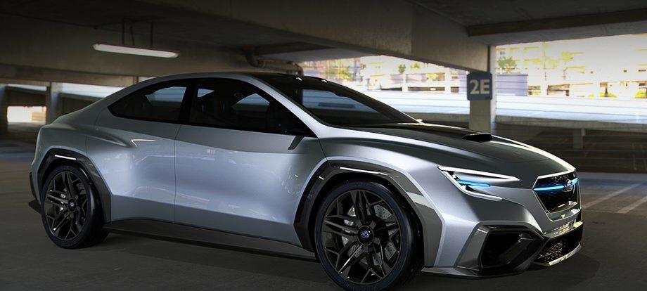 У следующего седана Subaru WRX будет гибридная версия