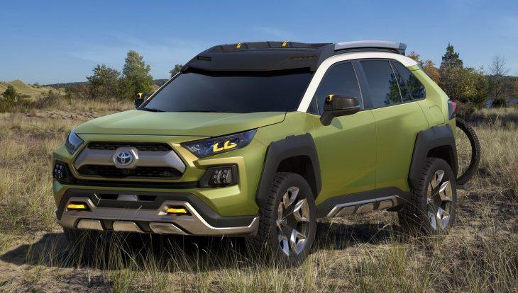 Toyota представила новый экспериментальный кроссовер