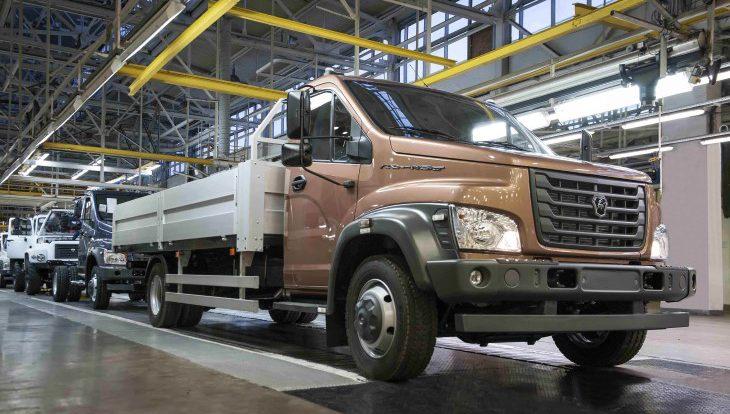ГАЗ начал производство новых грузовых автомобилей