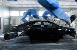 Заводу Toyota в Санкт-Петербурге исполнилось 10 лет