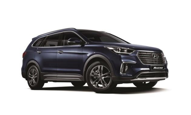 Hyundai слегка обновила кроссовер Grand Santa Fe