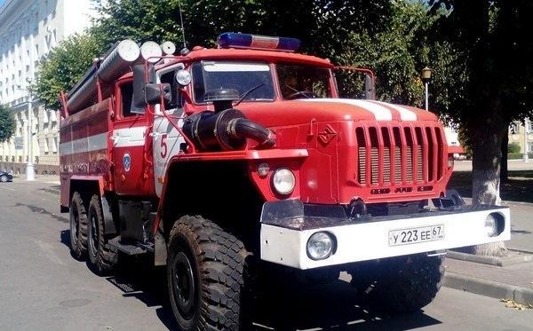 На Нарвской в Смоленске сгорела «Калина»