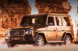 Новый Mercedes-Benz G-класса прибудет к нам летом