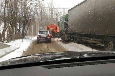 В Смоленской области фура насмерть сбила пешехода