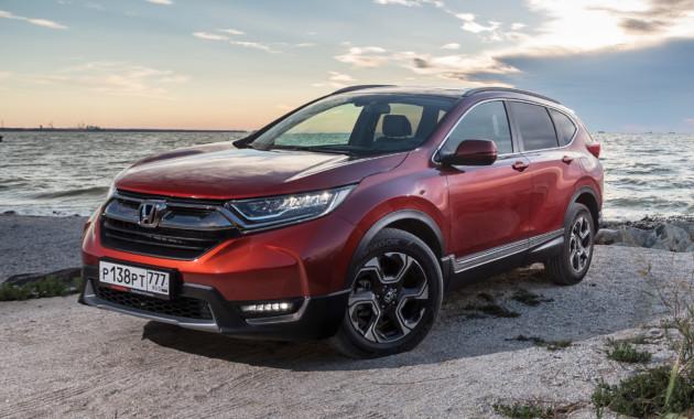 Honda CR-V подорожает в России с февраля