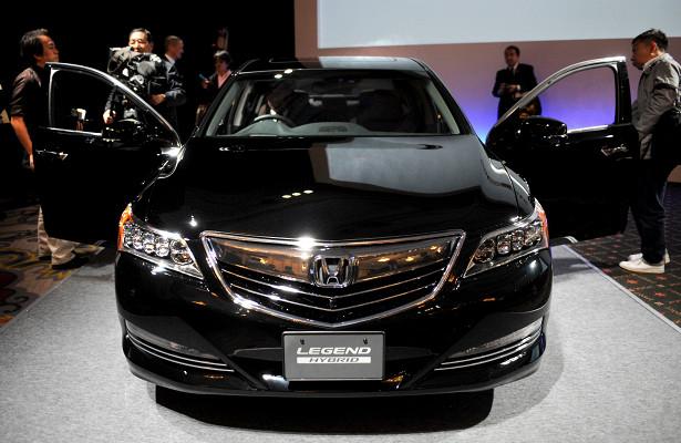 Honda Legend получила серьезное обновление