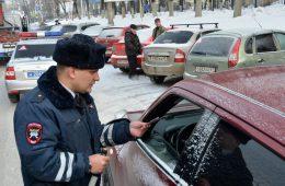 Госавтоинспекторы проверили смолян на соблюдение правил парковки