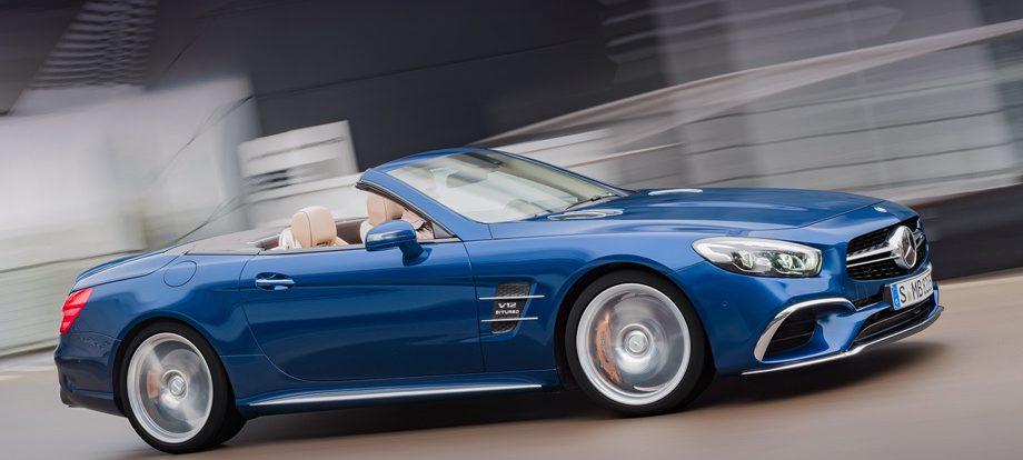 Немцы готовят к выпуску парадоксальный Mercedes SL