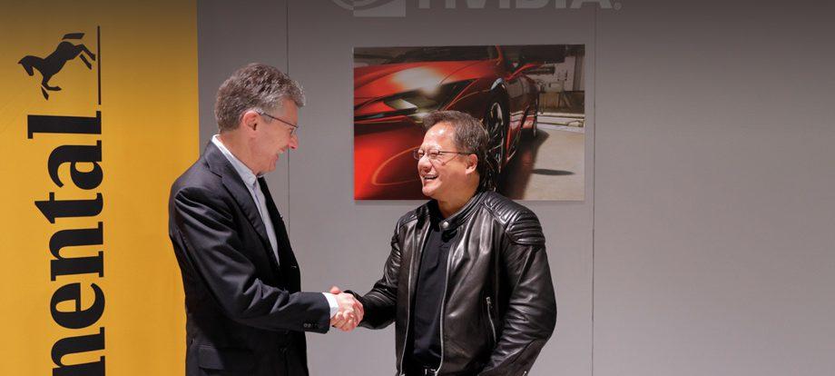 Фирмы Nvidia и Continental создадут платформу для беспилотников