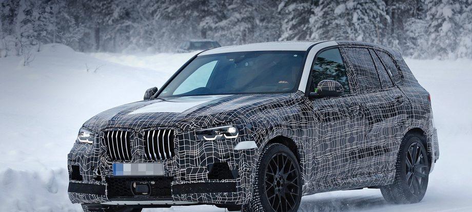В кроссовер BMW X5 M запрягут шесть сотен «лошадей»