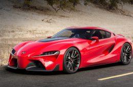 В Сеть попали технические данные купе Toyota Supra