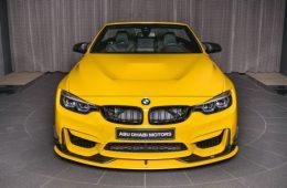 Уникальный BMW M4 Convertible выставлен в шоу-руме Абу-Даби