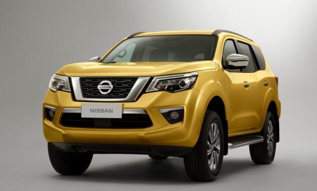 Nissan показал новый рамный внедорожник Terra