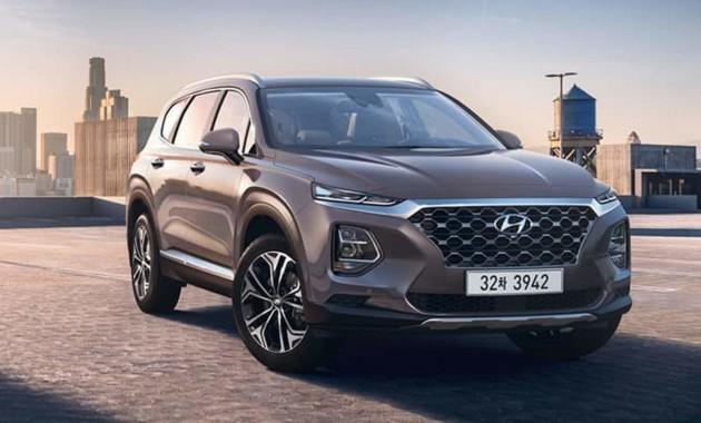Hyundai Santa Fe-2019: новые официальные фото и подробности