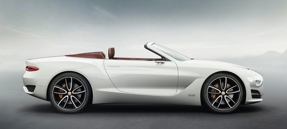 Первым электрокаром Bentley будет «четырёхдверное купе»