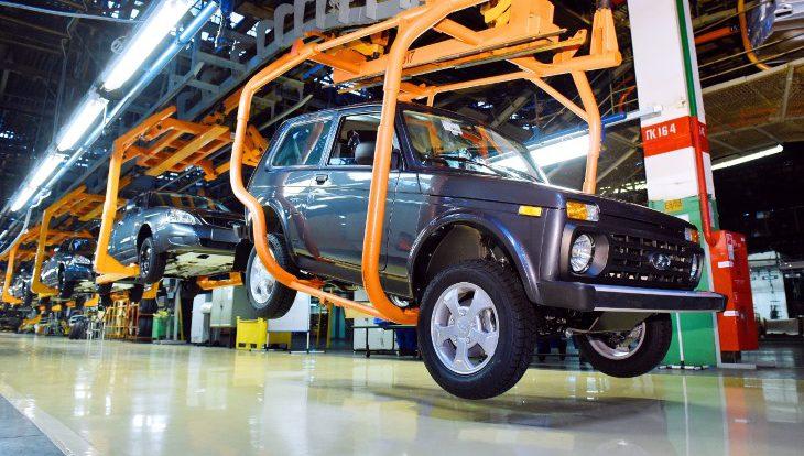 Средняя загрузка российских автозаводов увеличилась до 38%