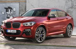 Объявлены российские цены нового кроссовера BMW X4