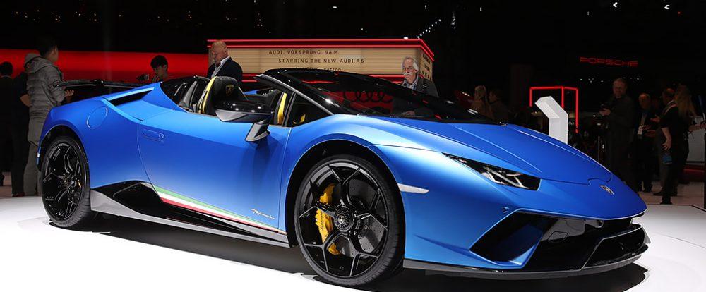 Lamborghini представил сверхбыстрый Huracan с открытым верхом