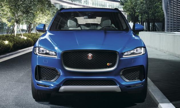 Jaguar F-Pace SVR представят на этой неделе в Нью-Йорке