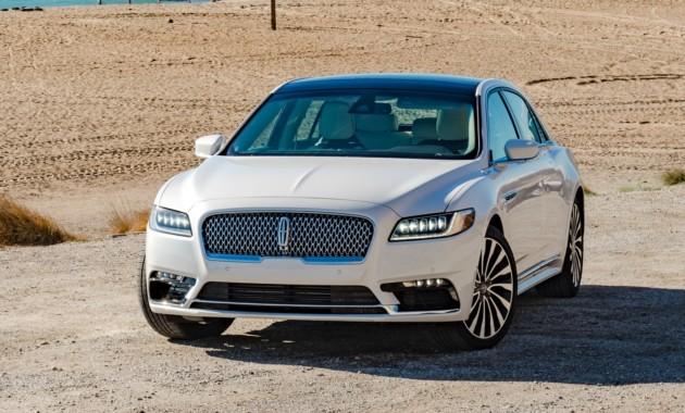 Lincoln Continental может получить «суицидальные» двери