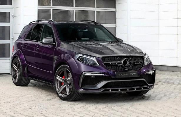 TopCar построило фиолетовый Mercedes-AMGGLE63SInferno
