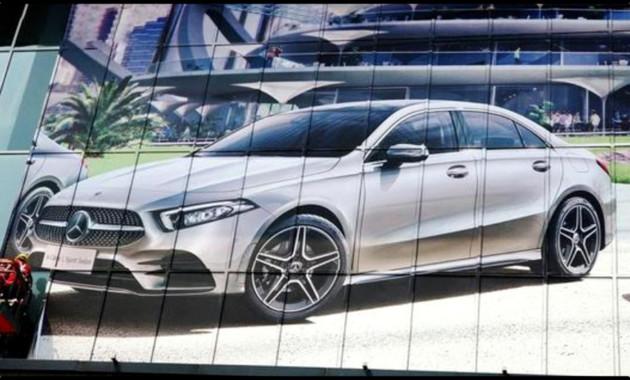 Внешность седана Mercedes-Benz A-Class рассекречена перед дебютом
